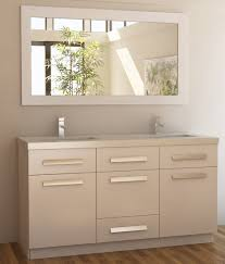 Double Sink Bathroom Adorna 60 Inch White Double Sink Bathroom Vanity In White Set