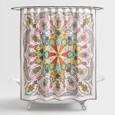 andana medallion shower curtain world market