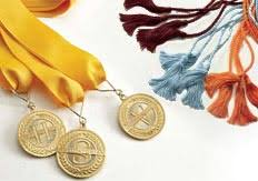 graduation medals stole graduation cap and gown stole masters gown tam and