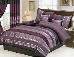 Mauve Comforter Sets Bedding With Matching Curtains Amazon Com