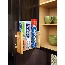 rev a shelf 8 in h x 10 13 in w x 4 in d small door mount foil