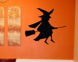 Flying Witch Decoration Flying Witch Decor Etsy