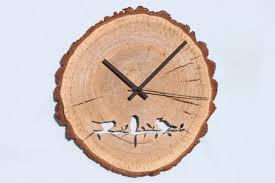 Pendule Murale Originale by Oiseaux Sur Une Horloge Horloge Murale Originale Horloge
