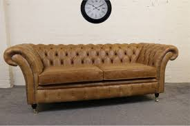 Used Chesterfield Sofa For Sale by The London Leather Chesterfield Sofa