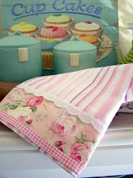 Designer Kitchen Towels Pieced Pillow Case Or Towel So Pretty Great Way To Update Old