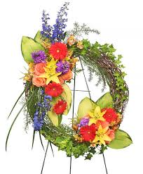 cheap funeral flowers brilliant sympathy wreath funeral flowers flower shop network