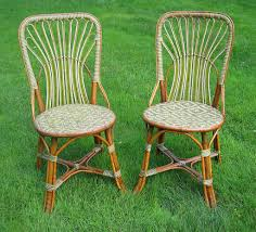 Rattan Bistro Chairs French Cafe Chairs Rattan Unique Elegance French Rattan Bistro