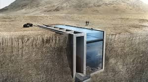house inside house being built into a cliff thanks to internet cnn style