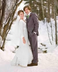 Weddings In Colorado A Rustic Winter Destination Wedding In Colorado Martha Stewart