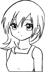 manga sad coloring page wecoloringpage