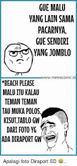 Gambar Meme Polos - 25 best memes about indonesian language indonesian