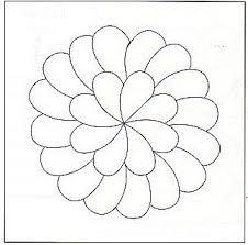 113 best quilt motifs circles images on pinterest free motion