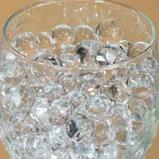 Diamond Vase Fillers Clear 50g Water Pearl Wedding Table Top Centerpiece Fill Out