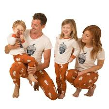 nuts about you family of four matching pyjama bundle great and