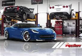 turbo corvette redline motorsport s c7 turbo package