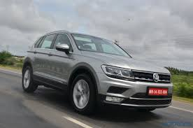 volkswagen tiguan 2017 price new volkswagen tiguan india review price specs mileage image