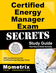 certified energy manager exam secrets study guide cem test review