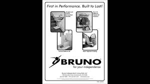 bruno elan sre 3000 stair lift installation manual as a movie