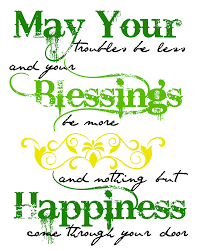 irish blessing printable art a mom u0027s take
