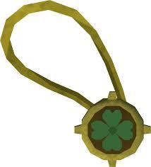 rs3 spring cleaner dazzling four leaf clover necklace runescape wiki fandom