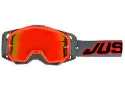goggle motocross just1 iris black white orange motorcycle motocross goggles