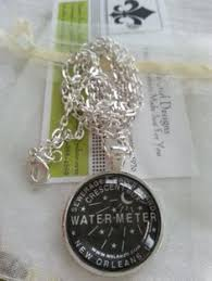 new orleans water meter necklace new orleans water meter necklace new orleans by scontrino1970