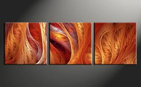 Decorating With Orange Walls Throughout Wall Decor 19
