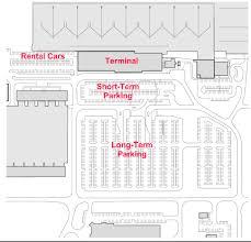 parking lot floor plan terminal diagram punta gorda airport