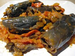 cuisine libanaise recette petites aubergines farcies ou mehche batenjen legumes et