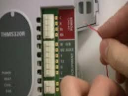 honeywell wireless thermostat kit installation youtube