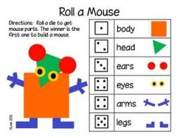 mouse paint math printables preschool