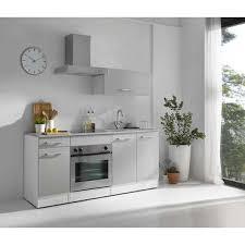 coforama cuisine bloc cuisine 180 cm cincuenta coloris blanc gris vente de les