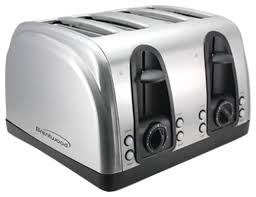 Breville Die Cast Toaster Brentwood 4 Slice Elegant Toaster With Brushed Stainless Steel