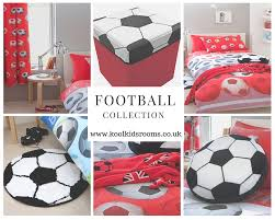 red football themed bedroom collection kool rooms for kool kids