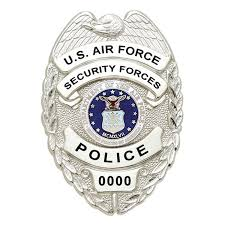 smith and warren u s air force security police badge bc