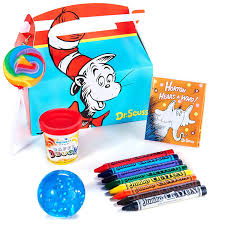dr seuss party dr seuss party supplies filled favor box toys
