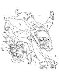 detailed naruto coloring pages coloring