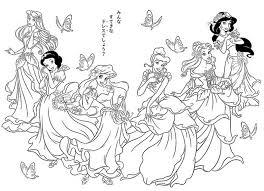 princess beauty disney aladdin color online dot peeps 563609