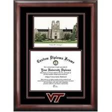 virginia tech diploma frame virginia tech diploma frame mahog braid w vt wordmark black maroon