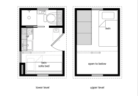 8x12 Tiny House With A Lower Level Sleeping Option Kitchen Floor Plans Mini House