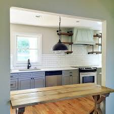 open shelving in kitchen how to