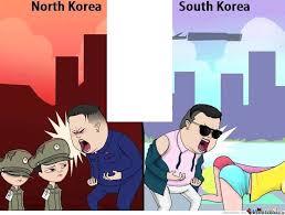 North Korea South Korea Meme - north vs south korea by fabrizio99 meme center