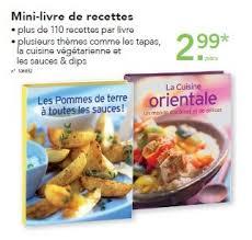 lidl recettes de cuisine lidl promotion mini livre de recettes produit maison lidl