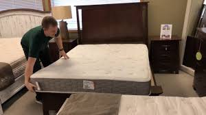 single person latex mattress flip youtube