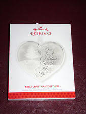 our together hallmark 2013 keepsake ornament ebay