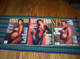 demi moore naked pics vanity fair u0027s demi moore nude pregnancy birthyday suit