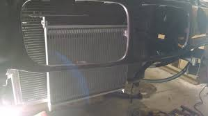 earls cooler mounting cooler to koyo radiator