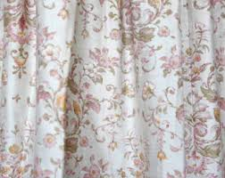 Peach Floral Curtains Taupe And Grey Loose Weave Curtain Panels Linen Cotton