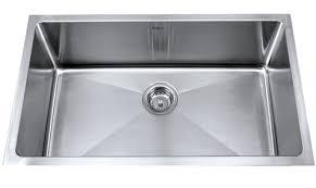 Kraus  Inch Undermount Single Bowl  Gauge Stainless Steel - Stainless steel kitchen sinks canada