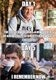 First Day Of College Meme - funny college memes strange school project mtm